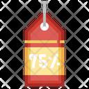75 Percent Icon