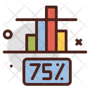 75 Percentage Icon