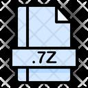 7 Z File File Extension Icon