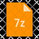 7 Z Zip File Icon