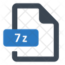 7 Z File Zip Icon