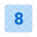 8 Number Icon
