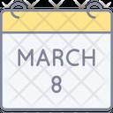 8th March Icon