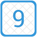 9 number Icon