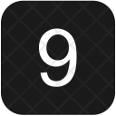 Keyboard Nine Number Icon