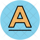 A Alphabet Letter Icon