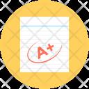A Plus Grade Icon