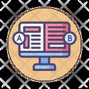 A B Testing Spilt Testing Testing Method Icon
