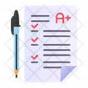 Exam Approved Grade Icon