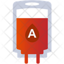 A Group Blood Blood Bag Blood Donation Icon