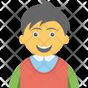 Happy Child Smiling Icon