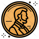A Penny Penny Headup Belief Icon