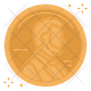 A Penny Penny Headup Belief Lucky Luck Goodluck Coin Icon