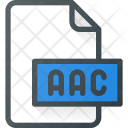 Aac File Audio Icon