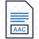 Aac Document File Icon