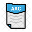 File Aac Document Icon