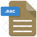 Aac File Paper Icon