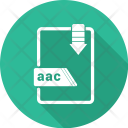 Document Aac File Icon