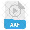 File Aaf Format Icon
