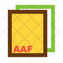 Aaf Ile Format Icon