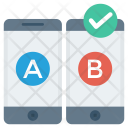 Ab Comparison Mobile Icon