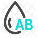 AB Blood Group Icon