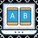 Ab Testing Web Icon