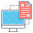 Comparing Document Ab Testing Testing Document Icon