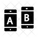 Ab Testing Split Testing Comparison Icon