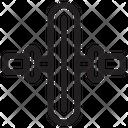 Ab Wheel Icon