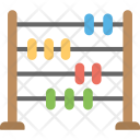 Abacus Colorful Beads Icon