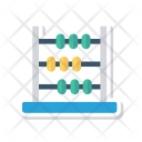 Abacus Calculation Mathematic Icon