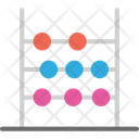 Abacus Game Counting Icon