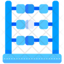 Abacus Calculator Math Icon