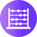 Abacus Calculation Calculator Icon