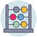 Business Abacus Calculation Icon