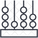Abacus Calculator Adding Icon