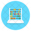 Abacus Arithmetic Educational Equipment Icon