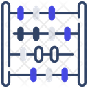 Abacus Totalizer Arithmetic Icon