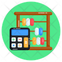 Calculator Abacus Totalizer Icon