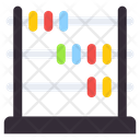 Abacus Counting Beads Arithmetic Icon