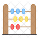 Abacus Totalizer Counting Beads Icon