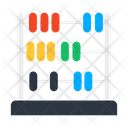Abacus Totalizer Adder Icon