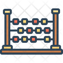 Abacus Ancient Arithmetic Calculation Icon