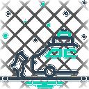 Abandon Demit Relocate Icon
