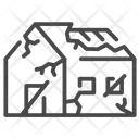 Abandoned House Building Icon