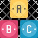 Abc Alphabet Grade Icon