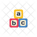 Cube Alphabet Shape Icon
