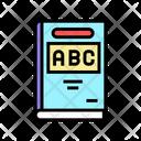 Abc Book Color Icon