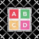 Abc Blocks Game Icon